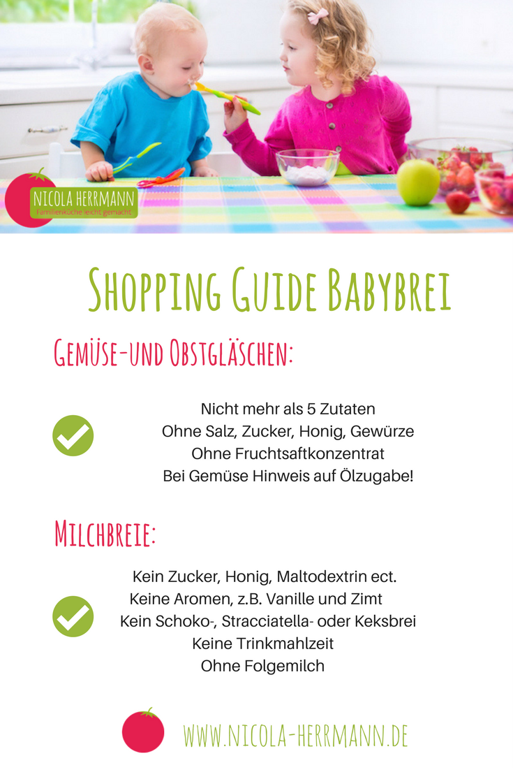 Shopping Guide für Babybreie
