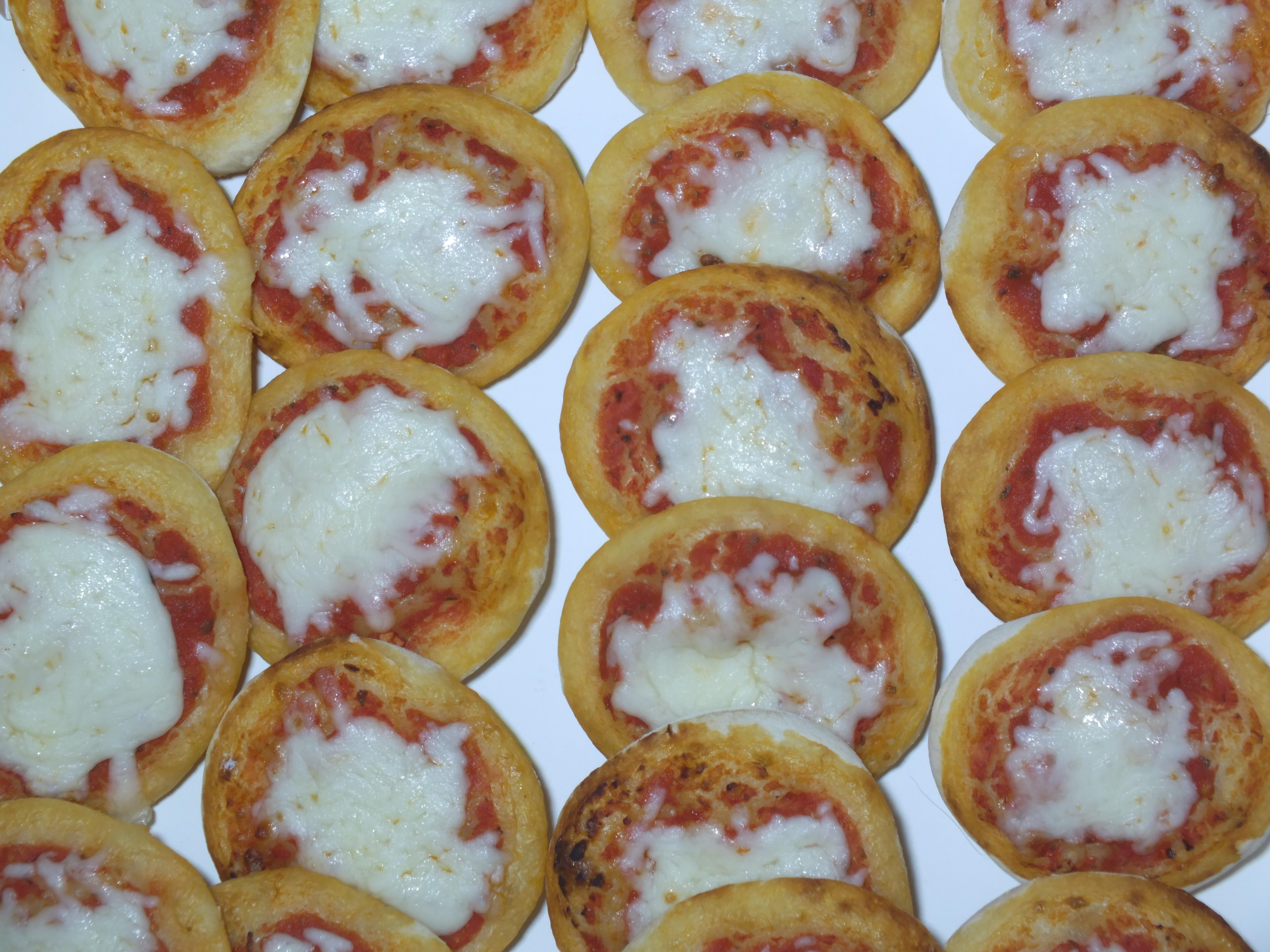 Mini-Pizzen im Raclette