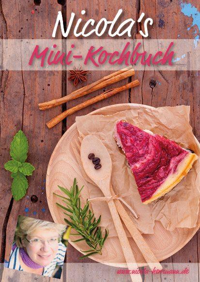 Mini-Kochbuch mit tollen zuckerfreien Rezepten
